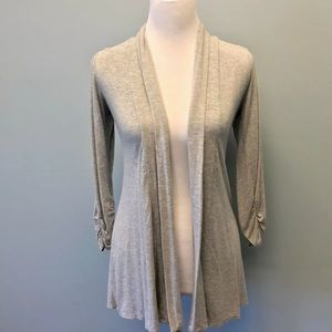 Jason Maxwell Gray Open Front Top Small